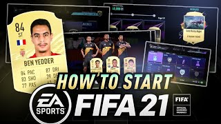 HOW TO START FIFA 21 ULTIMATE TEAM!