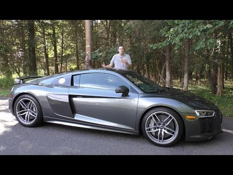 Here's Why the 2017 Audi R8 V10 Plus Costs $200,000 (Or More)