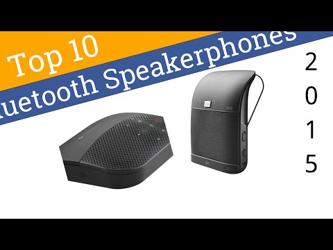 10 Best Bluetooth Speakerphones 2015