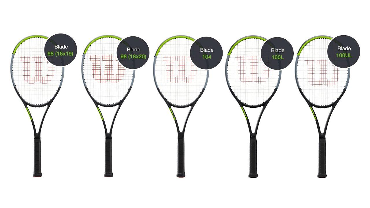 Wilson Blade v7 Tennis Racquet range