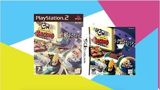 CN Cartoon Network, Xbox,PS2, DS