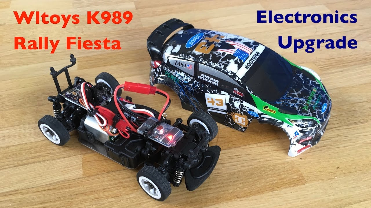 Wltoys K989 Rally Car: Arduino