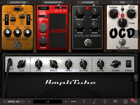 AmpliTube 4.1 for iOS - New Gear - Part 1 of 3