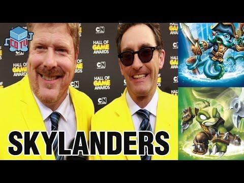 Skylanders Wash Buckler & Stink Bomb Interview