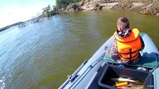 Рыбалка на Иртыше начало сентября 2017