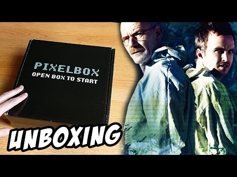 Unboxing PIXEL-BOX - SCIENCE Kwiecień 2017