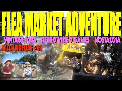 FLEA MARKET ADVENTURE/HUNT Awesome Toys (Naztalgic Fleas #61)