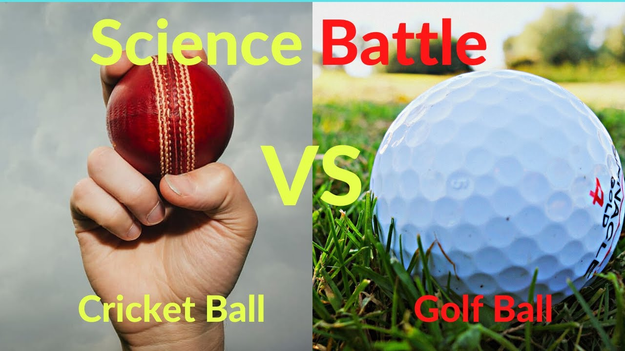 Why do Golf ball have dimples   Why do Cricket Ball Swing ...