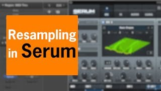 Resampling in Serum | Chris Gear