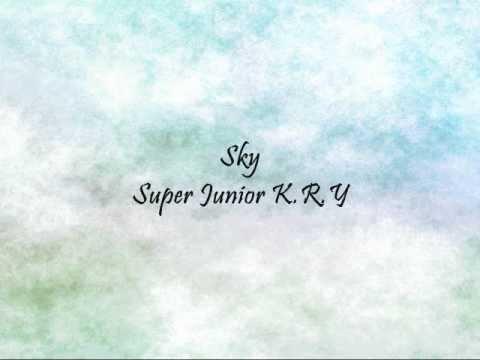 Super Junior K.R.Y - Sky [Han & Eng]