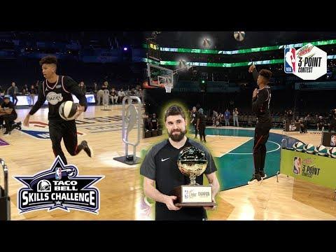 NBA All-Star Skills Challenge + NBA 3PT Contest vs. Jesser & TJass