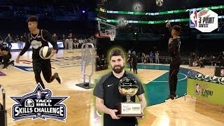 NBA All-Star Skills Challenge + NBA 3PT Contest vs. Jesser & TJass