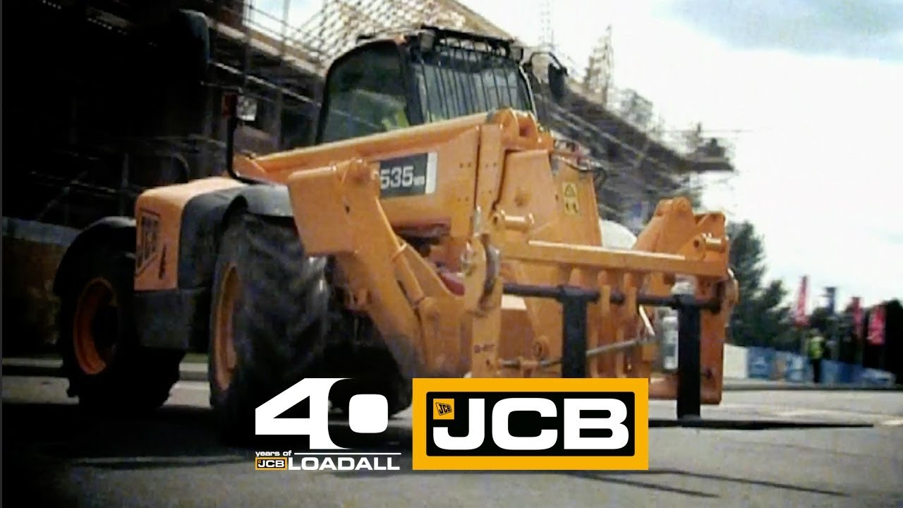 JCB Hi-Viz Launch - Celebrating 40 Years of Loadall