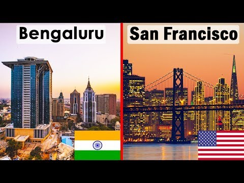 Bengaluru vs San Francisco : City Comparison (2018)