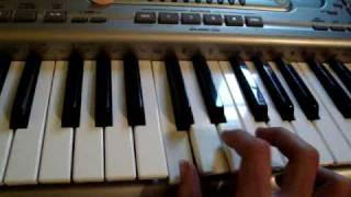 The Burning of the Midnight Lamp Keyboard lesson