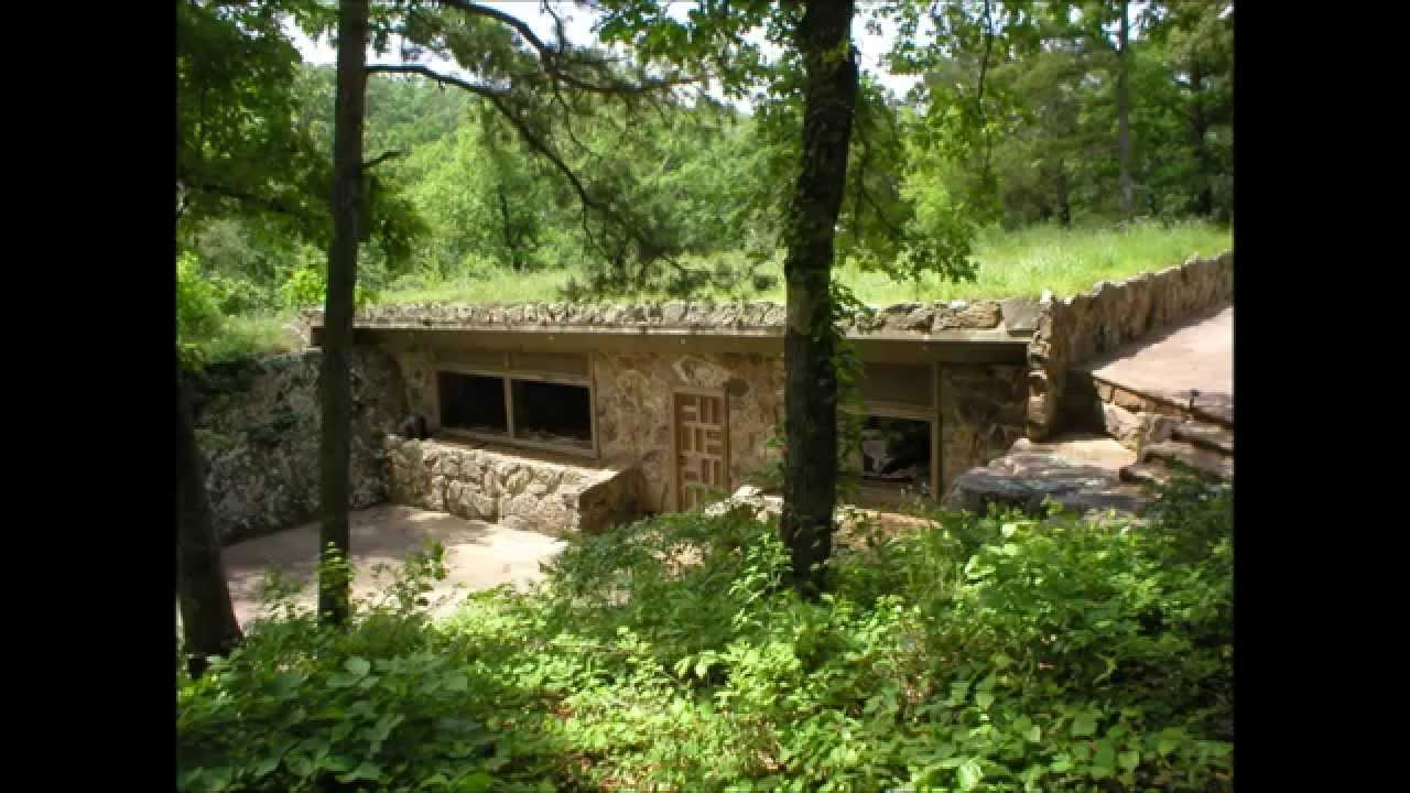 Houses Built Underground Underground Rock House Youtube