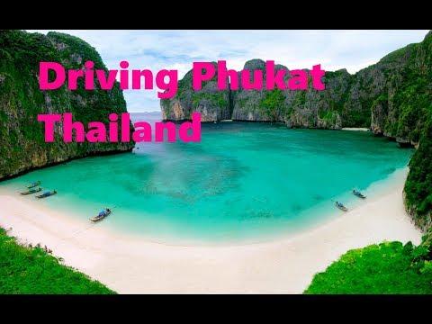 Driving Phuket and Pataya Beach Thailand