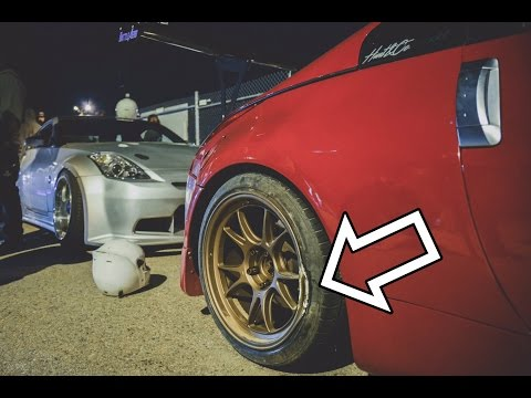 Cracked my Wheel while drifting my 350z