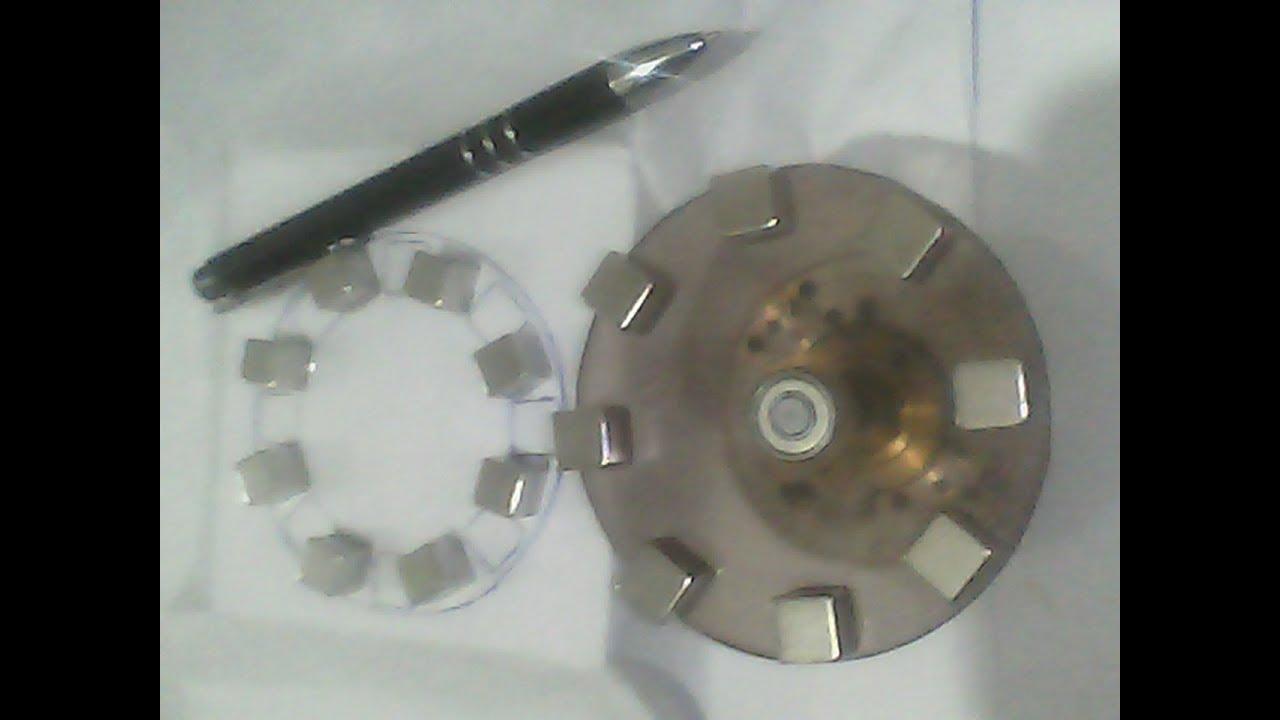 84626d452b6 Protótipo gerador magnético com ímãs de neodímio!!! - YouTube