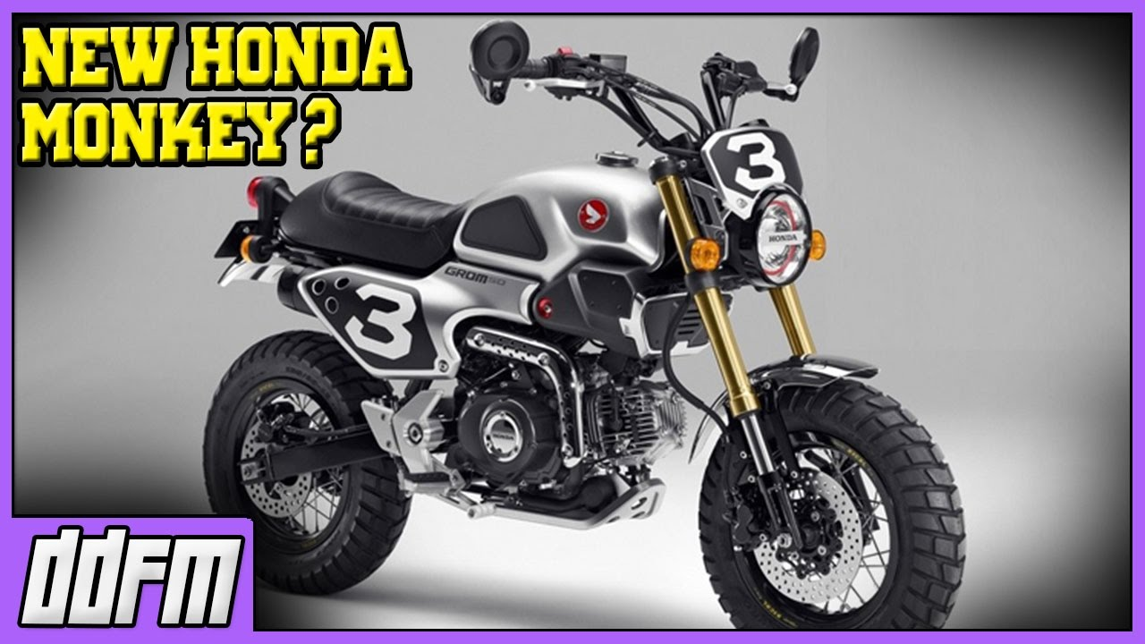 2017 honda monkey 125cc bike / the new honda grom? - my thoughts