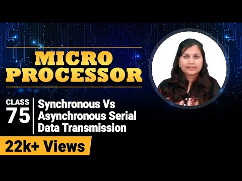 Synchronous Vs Asynchronous Serial Data Transmission - Communication Interface - Microprocessor