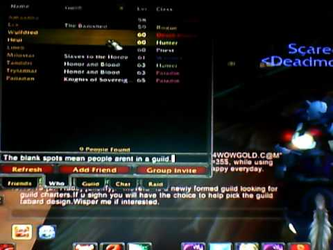 World Of Warcraft How To Invite 20 Guild Members In 3 Mins Youtube