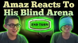 [Hearthstone] Amaz Reacts to His Blind Arena Run