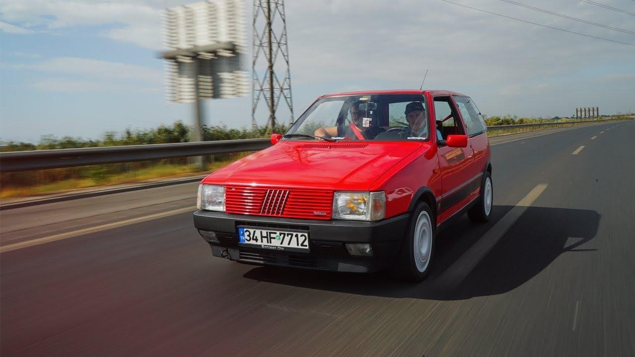 Fiat Uno Turbo I E Test Surusu 1985 Yilinin Iddiali Hot Hatch I