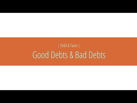 Small Good Choices   Good Debts Bad Debts