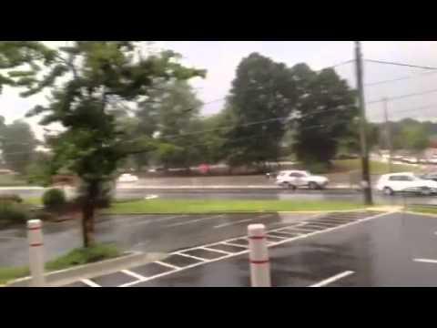 Georgia Thunderstorm In Fayetteville, GA