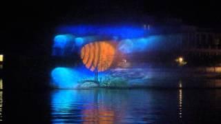 KAUST 5 years, fountain show