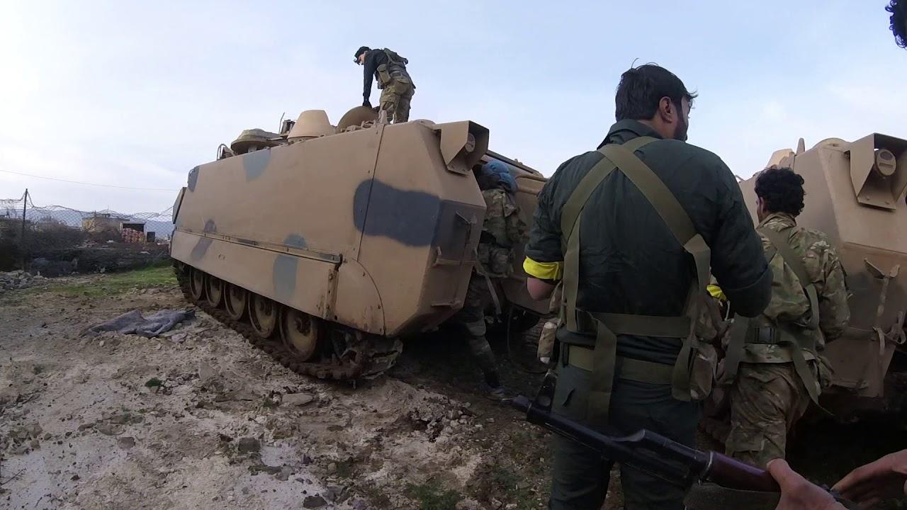 Savaş Muhabiri İrfan Sapmaz Afrin operasyonunda Raco'nun alınışını görüntüledi