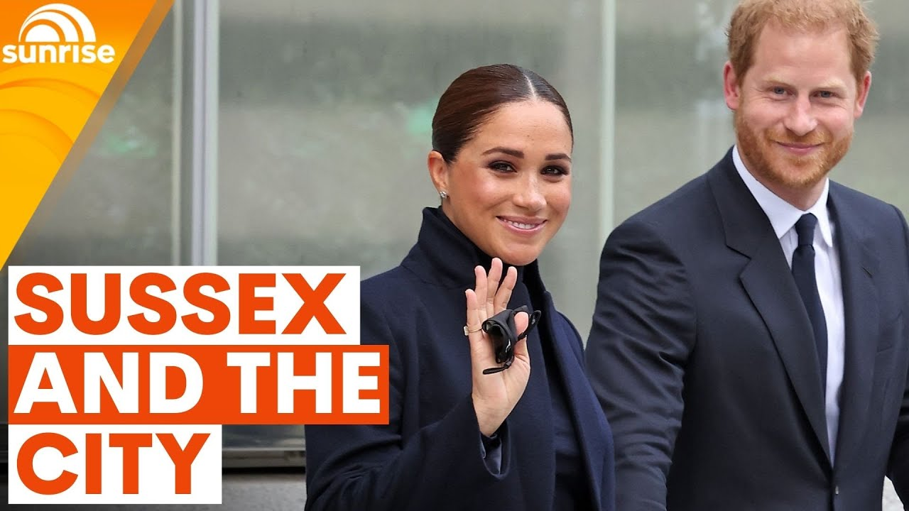 Prince Harry and Meghan Markle make waves in New York City as 'Global Citizens' | Sunrise