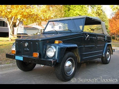 Volkswagen Thing For Sale >> 1974 Vw Thing For Sale Look At My Thing Youtube