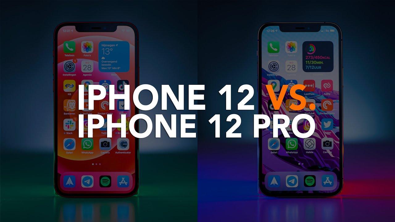 iPhone 12 vs iPhone 12 Pro: welke nieuwe iPhone moet je kiezen?