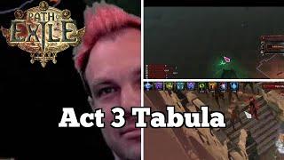 Act 3 Tabula   Daily Path of Exile Highlights