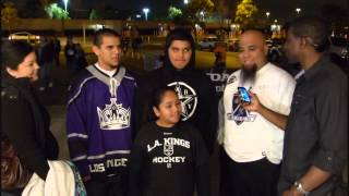 Anaheim Ducks vs Los Angeles Kings Freeway Faceoff February 2013