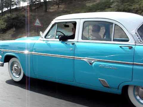 1954 Ford Customline V8  YouTube
