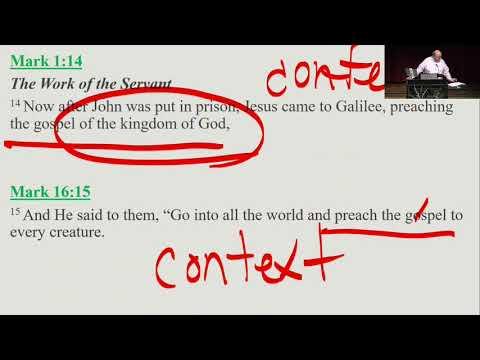 21 - The Gospel of Kingdom vs The Gospel of Grace
