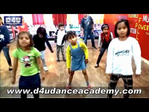 Tukar Tukar - Dilwale Song - KIDS DANCE - Shahrukh & Kajol - D4U DANCE ACADEMY.
