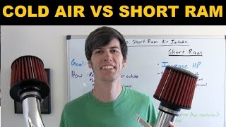 Cold Air Intake vs Short Ram Intake - Explained