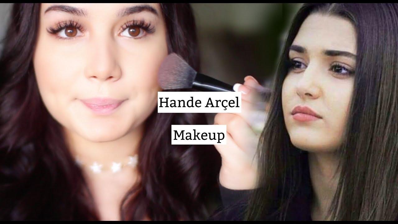 مكياج الممثلة هاندا ارشيل سيلين Hande Ercel Makyaji Youtube Black Makeup The Balm Makeup