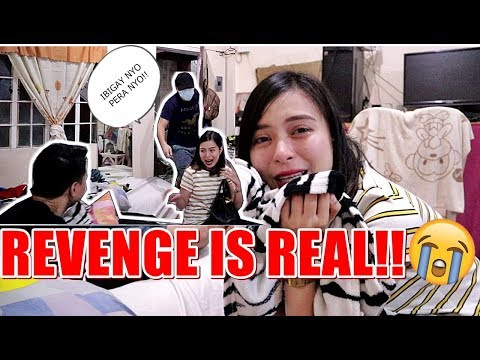 REVENGE PRANK ON GF!! BUDOL-BUDOL SA DORM!! (UMIYAK HAHAHA)