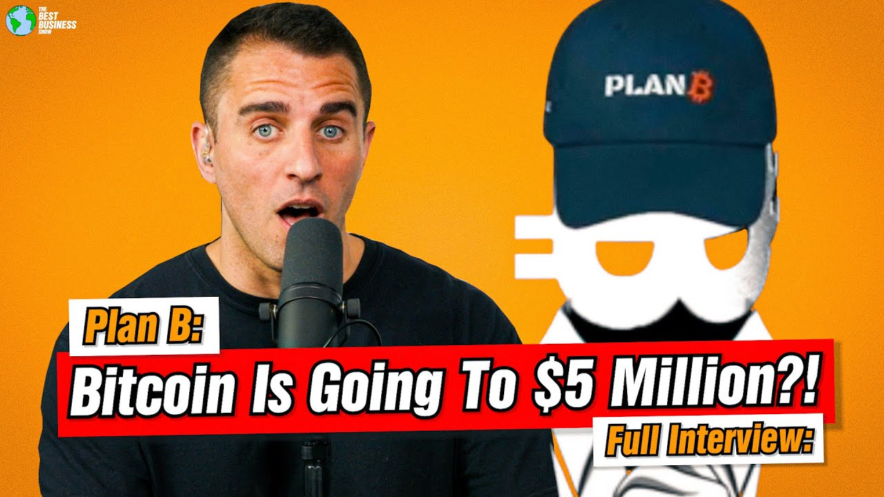 Anthony Pompliano Interviews Plan B on Bitcoin Stock to Flow Model