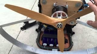 EParaglider 3 blades prop