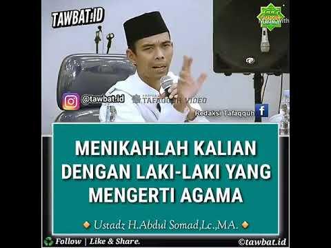 Menikahlah Kalian Dengan Laki Laki Yang Mengerti Agama -  Ustadz Abdul Somad  UAS