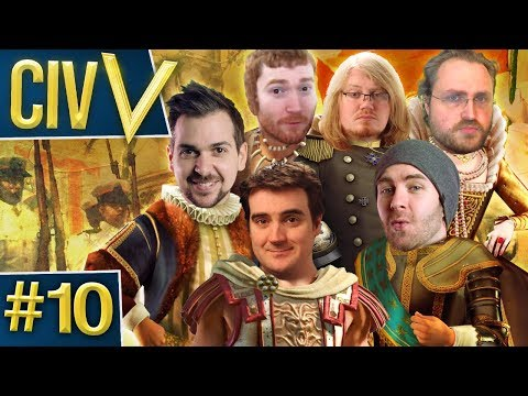 Civ V: Robot Wars #10 - Stale Scone
