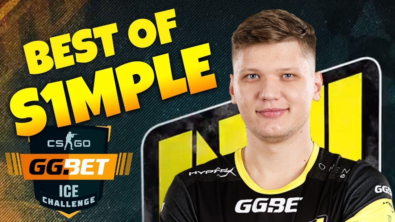 CS:GO - Best of s1mple from GG BET ICE Challenge (MVP)