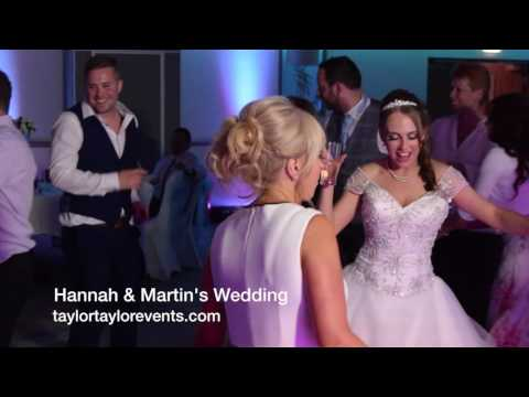 Wedding DJ & Mobile Disco At Hinckley Island Hotel With Blue Uplighting