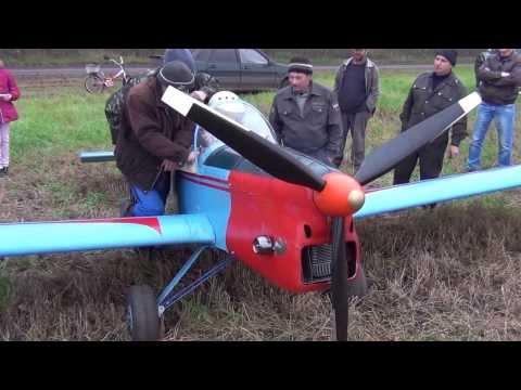 Самодельный самолет своими руками видео